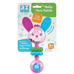 Baby Hare Rattle